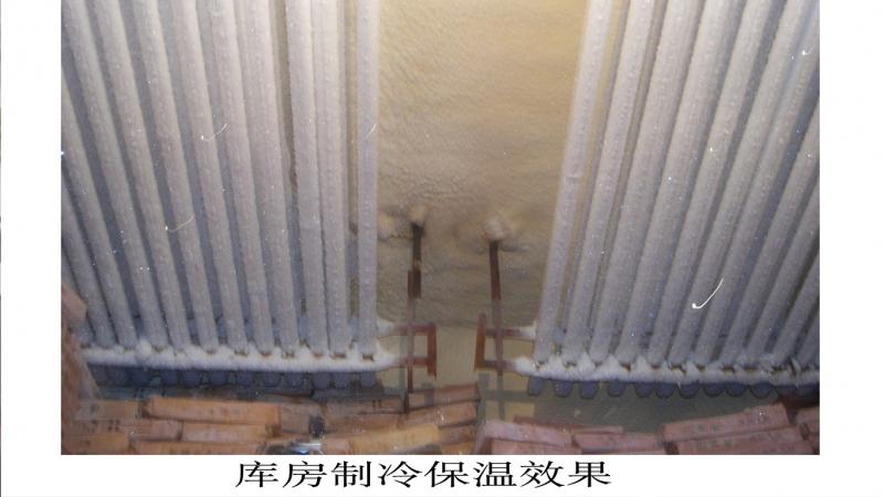 天津鑫汇洋大型冷库保温工程